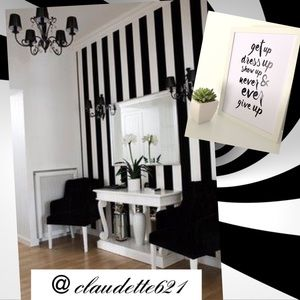 Other - Black & White Color Divider